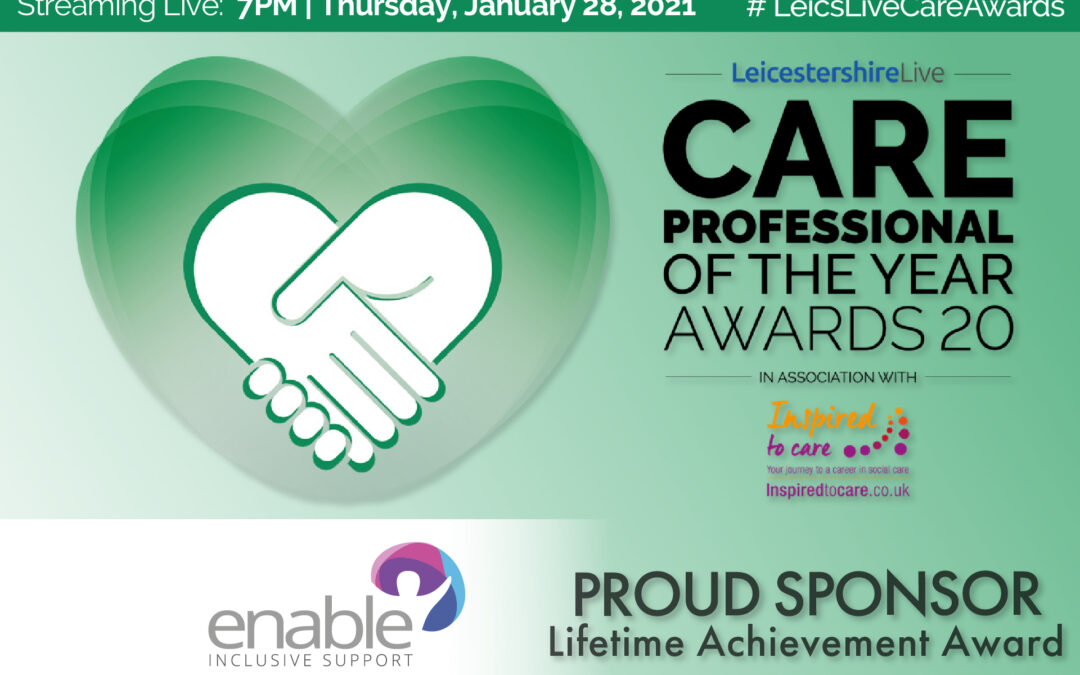 #teamenable Nominated in Local Care Awards
